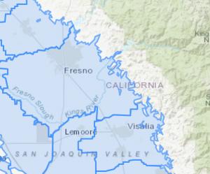 GIS Fresno Map